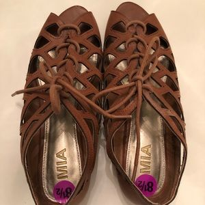 Brown Mia Sandals
